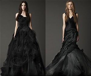 Новая мода – свадебные платья черного цвета